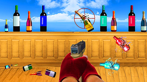 Capturas de pantalla de Bottle Shooting Master Game 3D 7