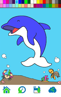 Sea Animals Coloring - náhled