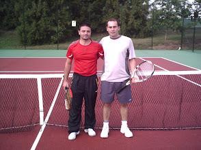 Photo: Torneo de Tenis Vila de Negreira 2009. Finalistas grupo B