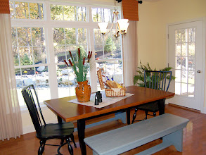 Photo: The breakfast area in our PRESTon model home at Winding Brook Estates in Saratoga Springs, NY