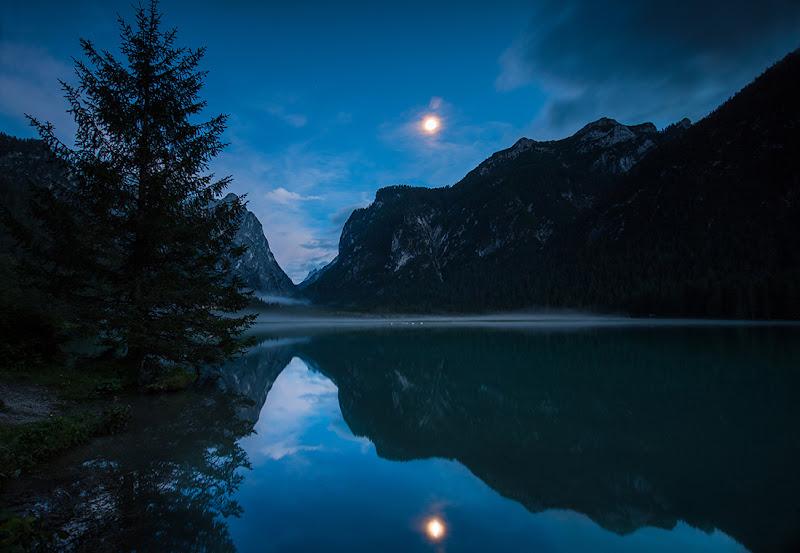 luna sul lago di walterpavan
