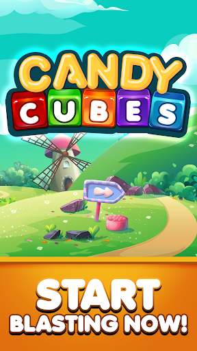 Match 3 Candy Cubes Puzzle Blast Games Free New 1.0.2 Mod screenshots 5
