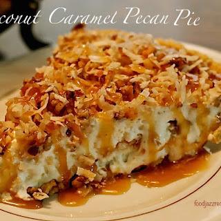 Coconut Caramel Pecan Pie