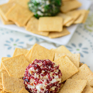 MINI CHEESE BALL RECIPE – 3 WAYS