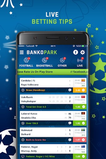 BankoPark - Live Betting Tips screenshot