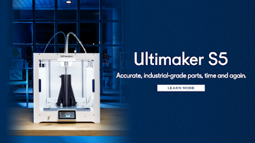 Ultimaker S5: Accurate, industrial-grade parts, time and again.