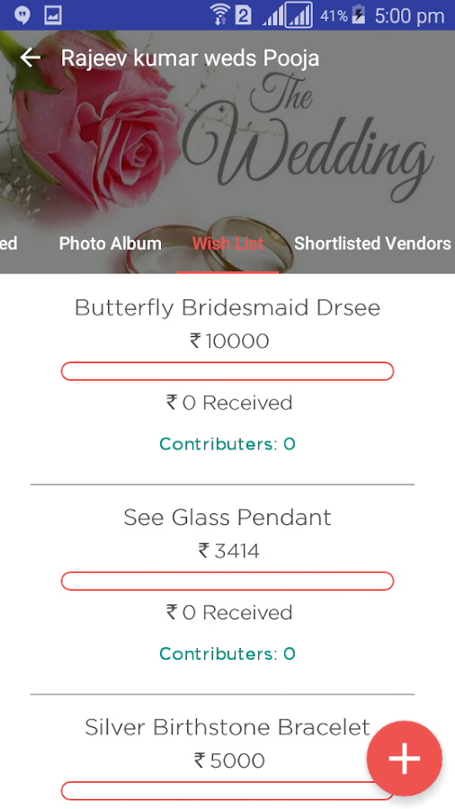 Wedzo - Simplify Your Wedding- screenshot