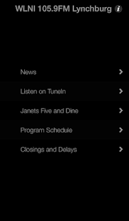 WLNI 105.9FM Lynchburg- screenshot thumbnail