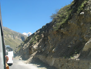 Photo: very dangerous travel to Badrinath from Joshi muth