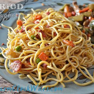 Fried Spaghetti Recipes.