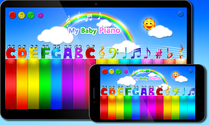 My baby Piano Android 6