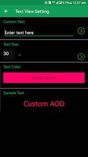Custom AOD (Add images on Always On Display) Screenshot