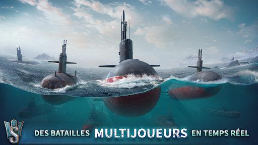 WORLD OF SUBMARINESu00a0: Jeu de bataille navale en 3D captures d'u00e9cran 1
