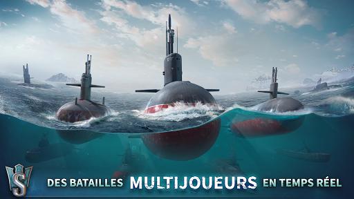 WORLD OF SUBMARINES: Jeu de bataille navale en 3D fond d'écran 1
