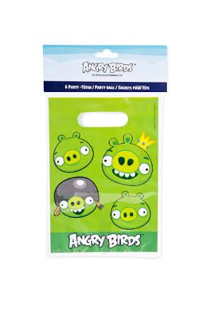 Angry birds kalaspåsar, 6 st