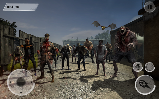 Zombie War Survival Shooter  captures d'u00e9cran 1