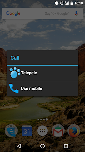 Telepele 1030 - free calls screenshot 1