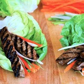 Asian Beef Lettuce Cups.