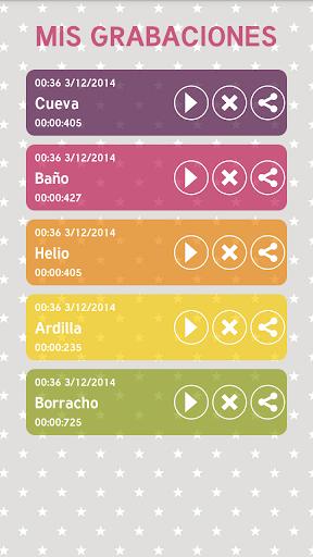 Cambiador de Voz screenshot 9