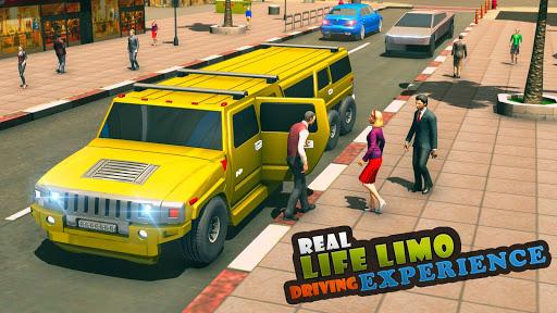 Big City Limo Car Driving Simulator : Taxi Driving 3.8 screenshots 1