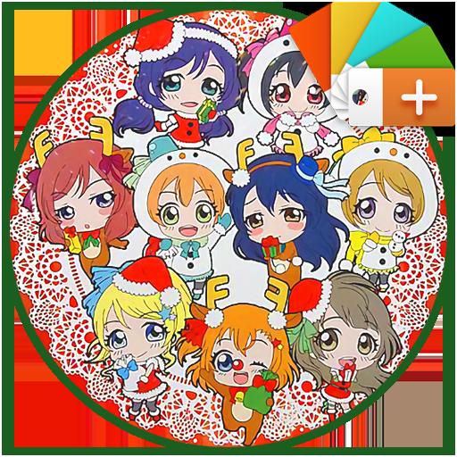 μ'sの聖誕物語 - Xperia Theme