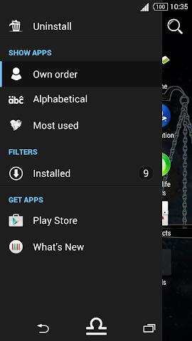 android For Xperia Theme Libra Screenshot 1