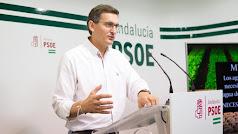 Sánchez Teruel, en una imagen de archivo, ha perdido a su padre.
