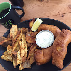 Fish and chips - gluten free!