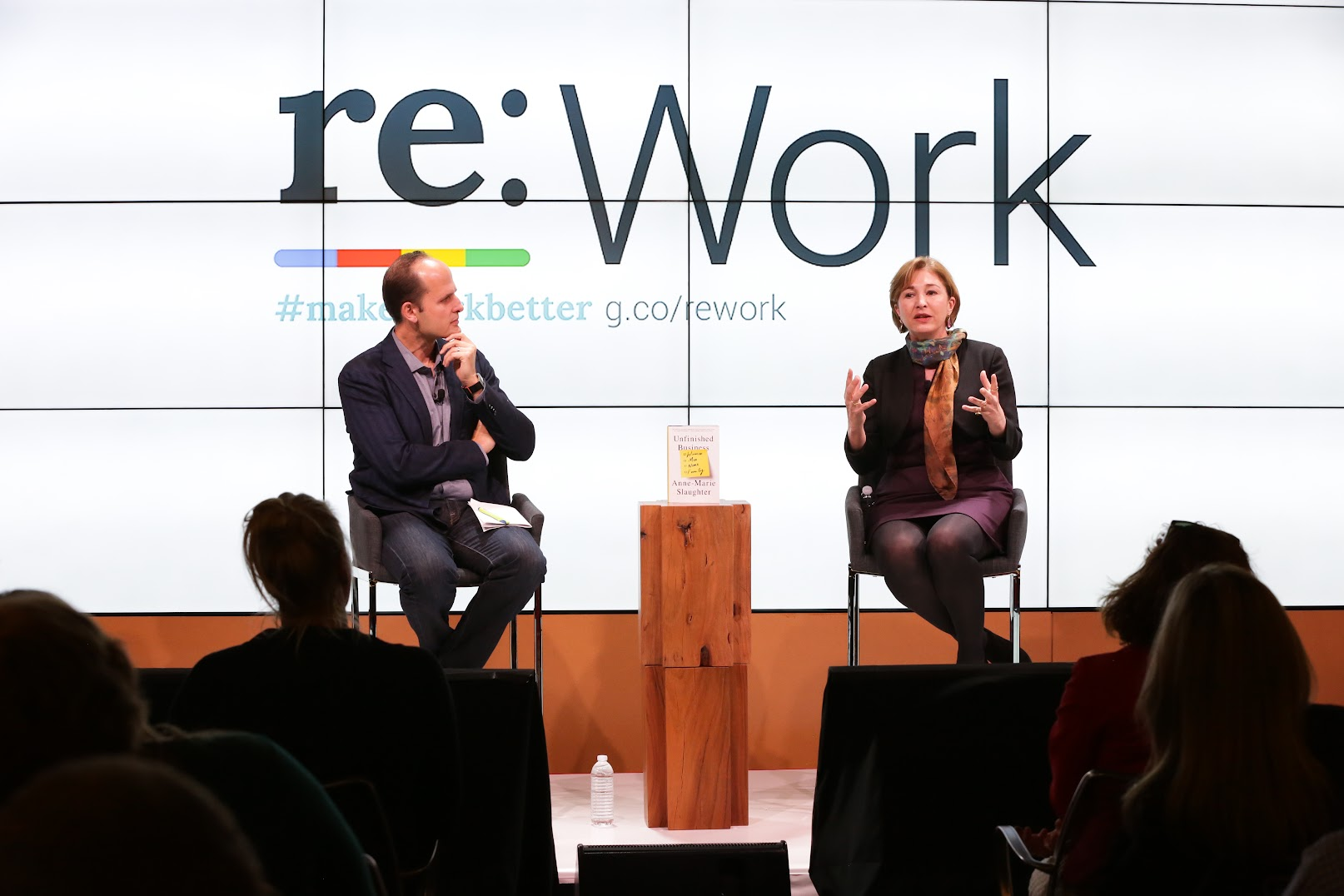 Anne-Marie Slaughter and Laszlo Bock on care, leave, and valuing work and life