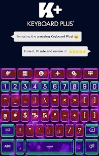 Theme Animated Keyboard - náhled