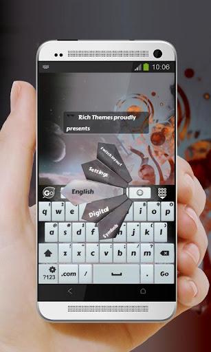 玩個人化App|アラベスクスクロール GO Keyboard免費|APP試玩