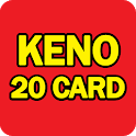 Keno 20 Card icon
