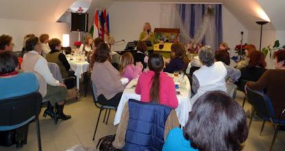 Photo: gyülekezetünk 2011. november 26-án, női reggeli alkalmával