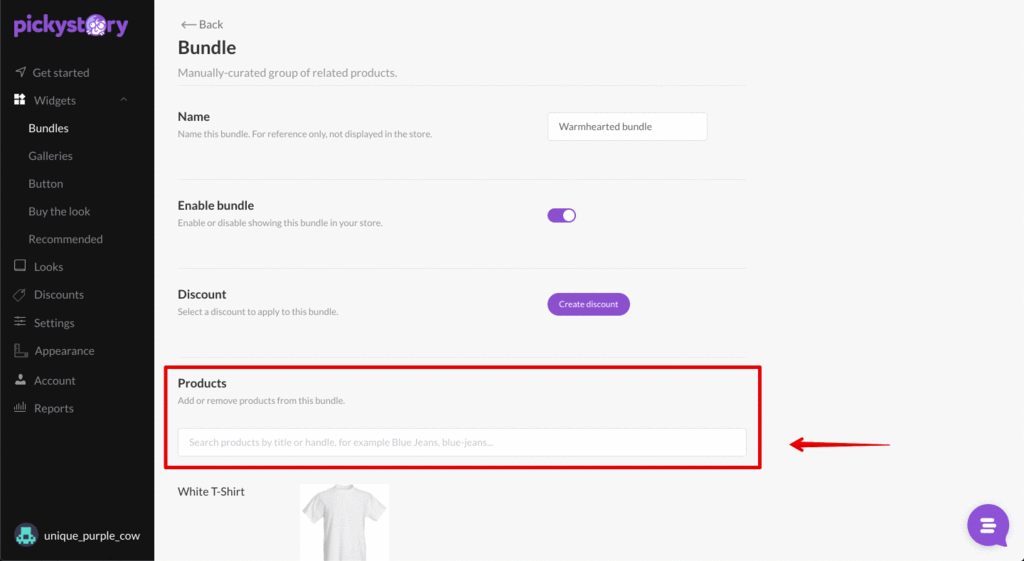 way to create Shopify product bundles