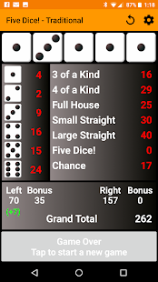 Five Dice! Free - náhled