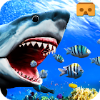 VR Shark Attack Angry Blue Whale icon