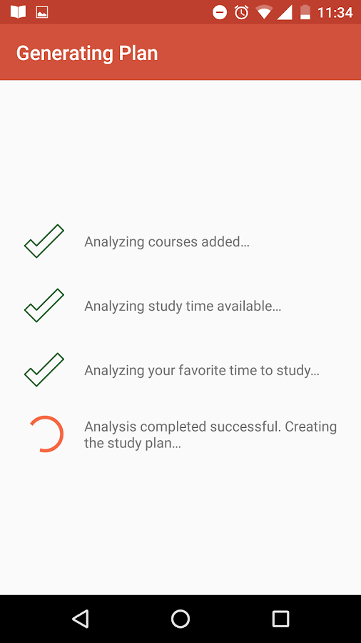 Smart Study Plan- screenshot