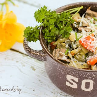 Easy Cancer Fighting Asian Vegetable Soup.