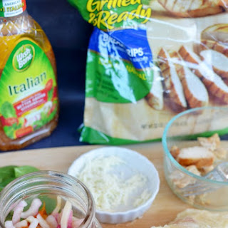 [ad] Italian Grilled Chicken Wrap