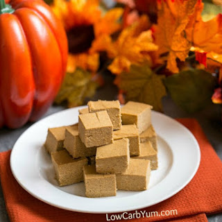 Easy Pumpkin Fudge Recipe - Sugar Free and Paleo