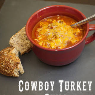 Cowboy Turkey Chili.