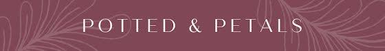 Potted & Petals - Etsy Shop Mini Banner Template