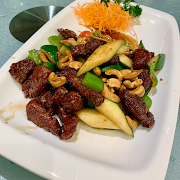H1. Diced Beef with Maggi Sauce and Cashews 腰果美極牛柳粒