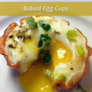 Baked Egg Cups - Low Carb Breakfast.