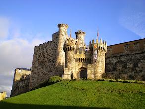 Photo: Castillo de los Templarios. Ponferrada.