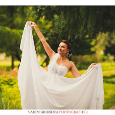 Wedding photographer Vadim Grikshta (vadimka1990). Photo of 05.09.2013