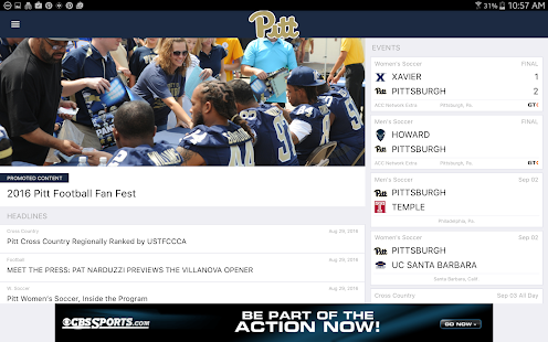Pitt Gameday LIVE- screenshot thumbnail