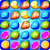 Juice Style: Fresh Fruits Match 3 Puzzle Game