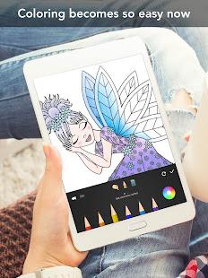 Princess coloring book 23