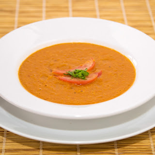 Red Lentil and Tomato Coconut Soup